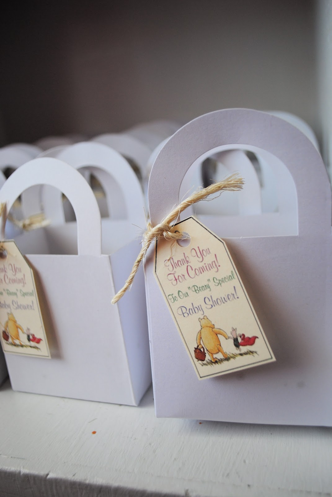 Craft Envy: Classic Winnie-the-Pooh Baby Shower