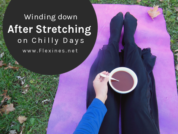 Winding Down After Stretching on Chilly Days Flexines