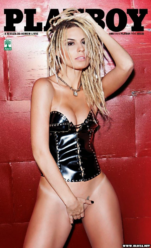 Playboy de outubro – Fernanda Lacerda – A mendigata do Pânico