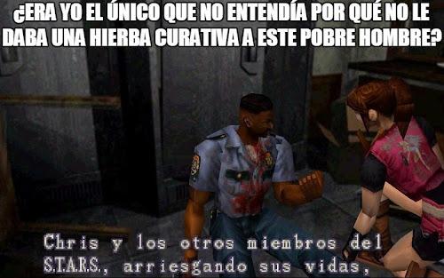 El Pobre Hombre de Resident Evil 2
