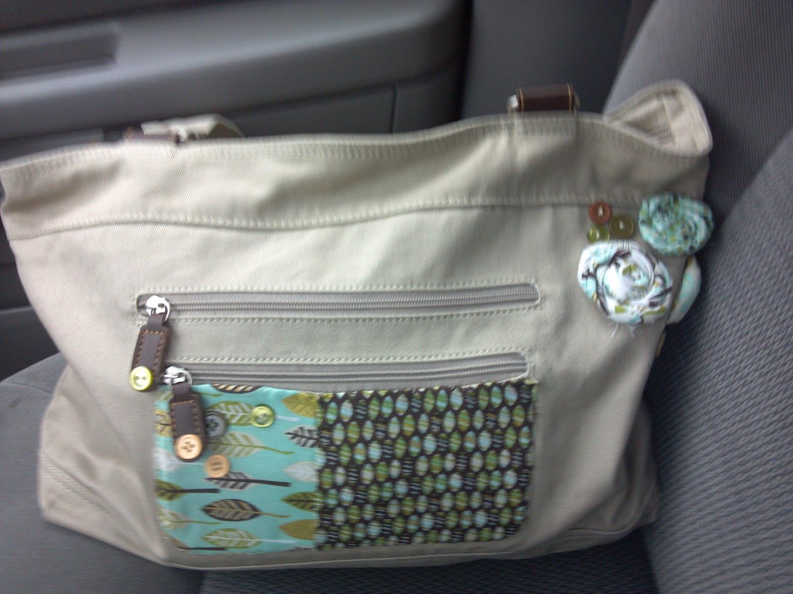 in my free time.: diy diaper bag