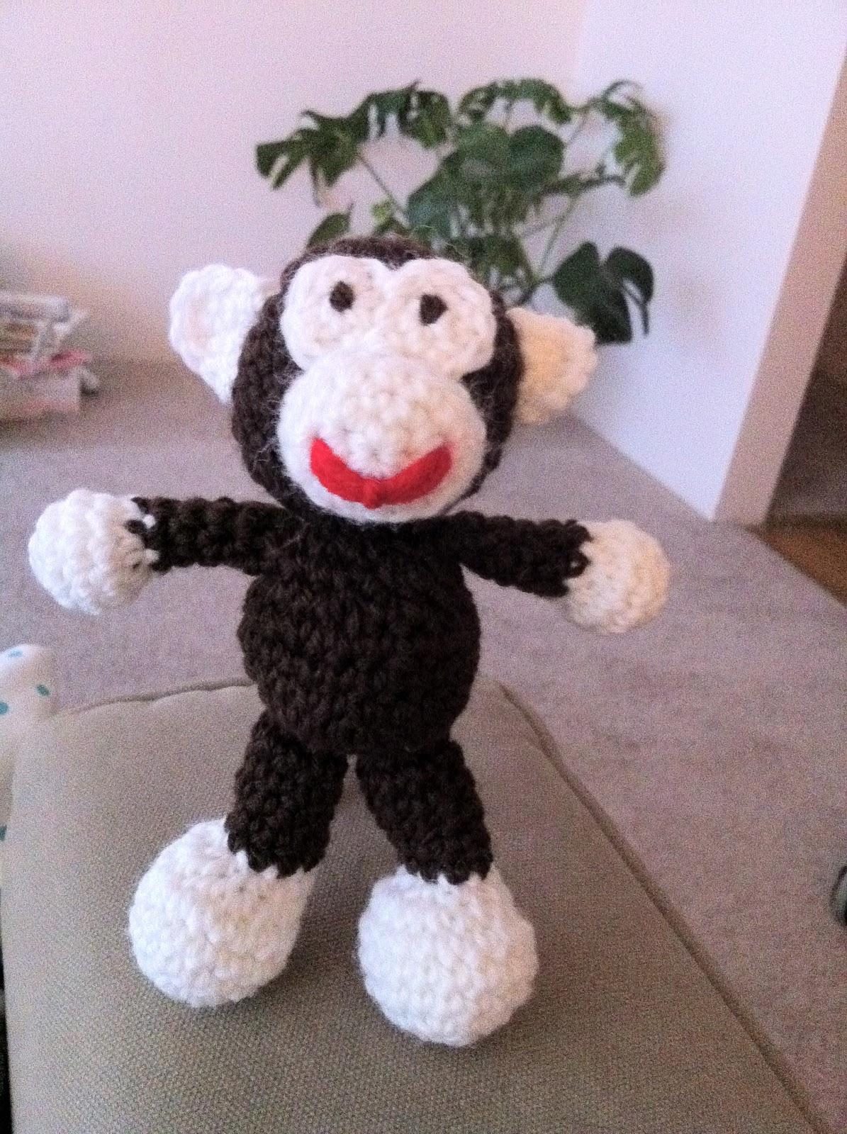 The Way I Crochet: Little Monkey Amigurumi