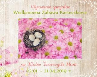 Wielkanocna zabawa karteczkowa