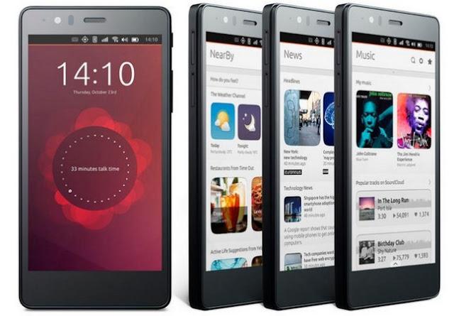 Ubuntu lanza sus Smartphones a nivel global