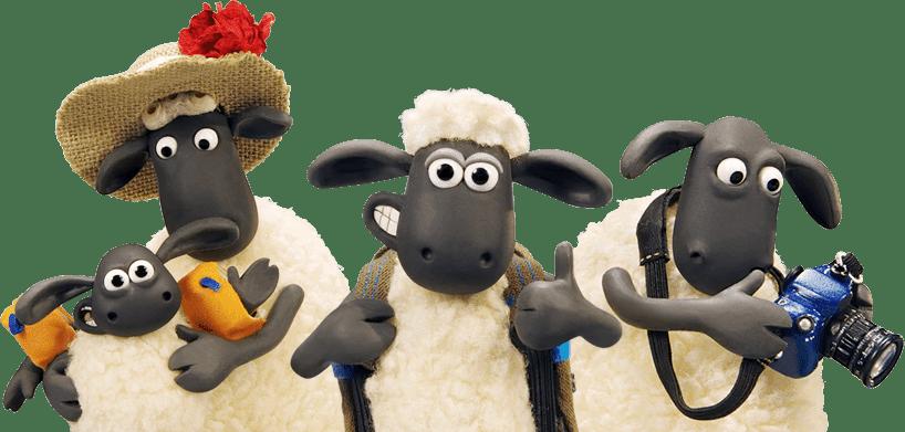 Shaun - The Sheep 2 - Cia dos Gifs