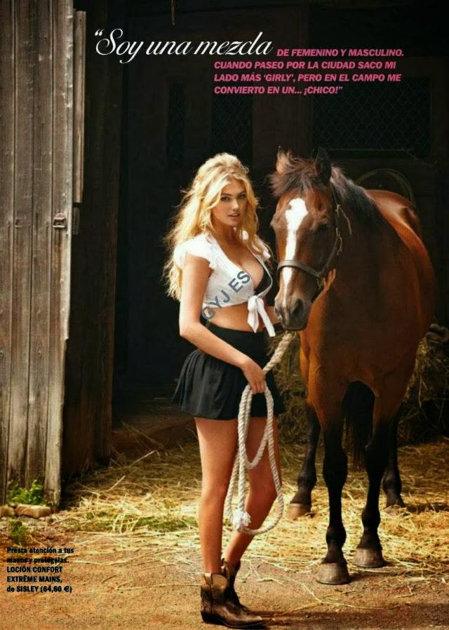 Kate Upton Cosmopolitan Magazine España
