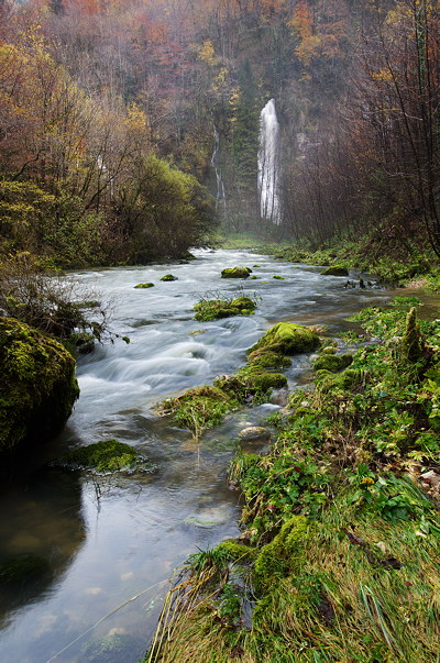 Image of Flumen river in Haut Jura Natural Park