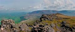 View from Knockanaffrin towards Crotty`s