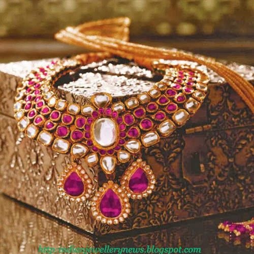 Tanishq Diamond Necklace Designs