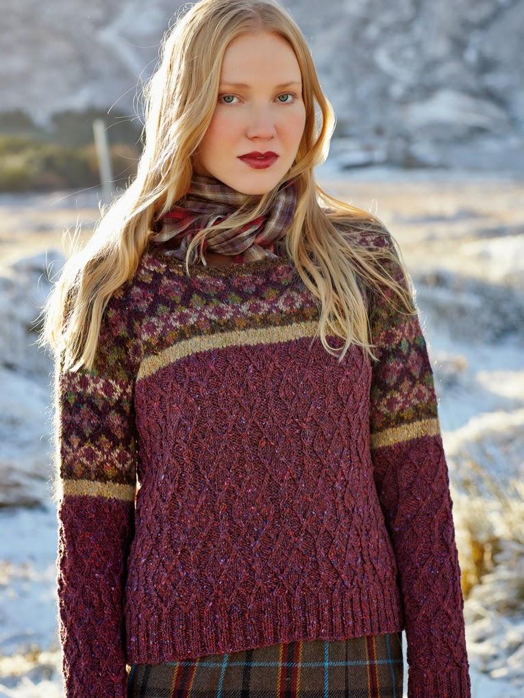 Irina: Inspirational source! The knitting Magazine ROWAN. PATTERNS.