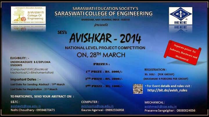 technical fests in engineerig colleges Hey guys, i m sharad pursuing mech engg in dce we are organising a technical fest in our college so i want some new ideas for d events in tech fest.