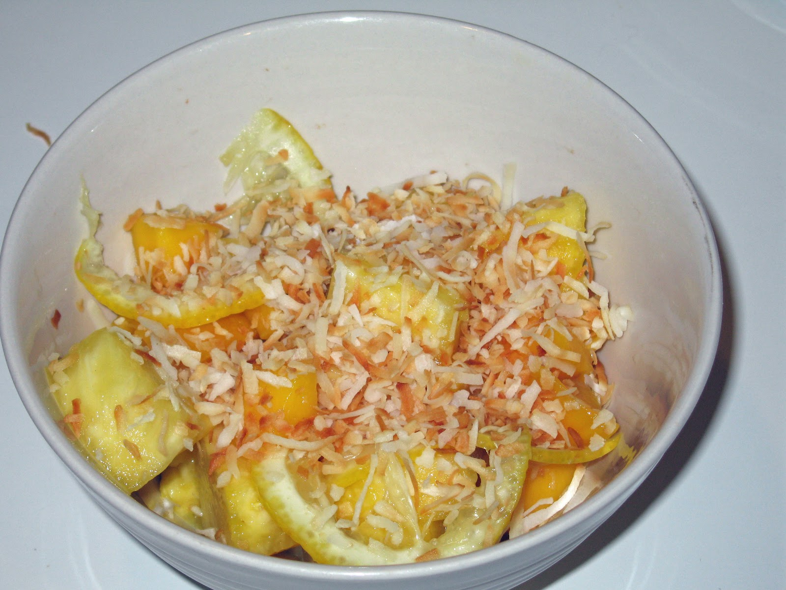 Put That in My Mouth: Pineapple, Mango, and Meyer Lemon Salad
