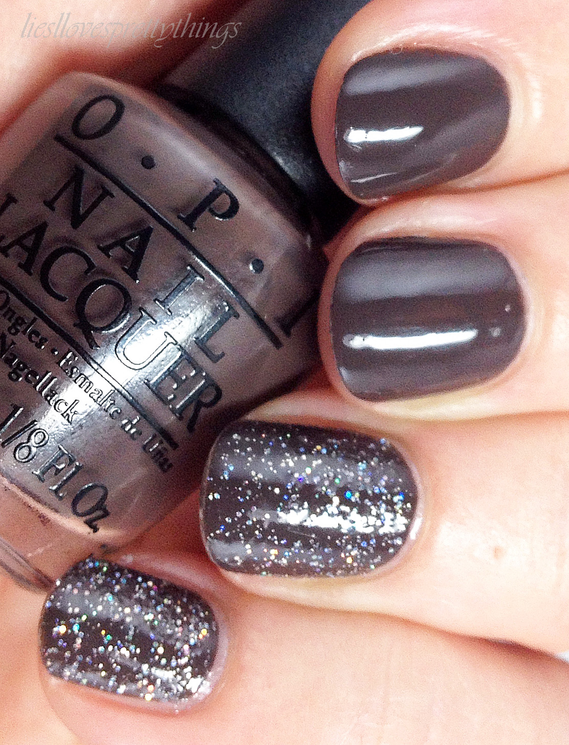 OPI How Great Is Your Dane? + My Voice Is a Little Norse swatch and review