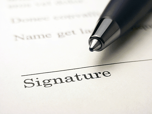 Obtain Patient Signature