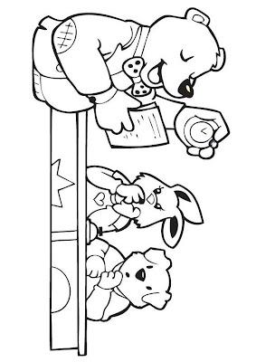 Desenho de Professor/ Dia do Trabalho / Dia do Professor para colorir