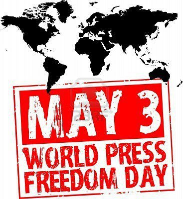 World Press Freedom Day - May  03  IMAGES, GIF, ANIMATED GIF, WALLPAPER, STICKER FOR WHATSAPP & FACEBOOK