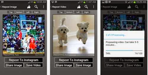 Cara Repost Foto Video Instagram Android