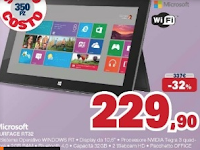 Surface RT 32, sottocosto Unieuro
