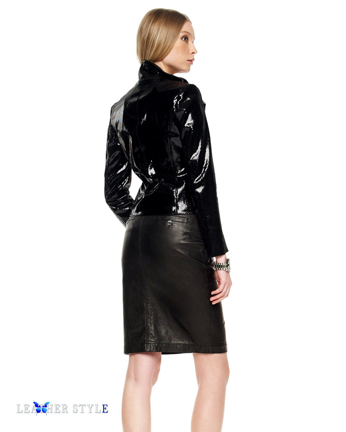 leather style couture vinyl fashion designers