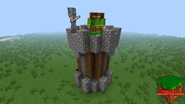 AgeCraft Adventure Mod torre de guardia