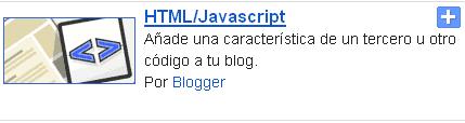 Agregar un buscador en blogger con un solo widget
