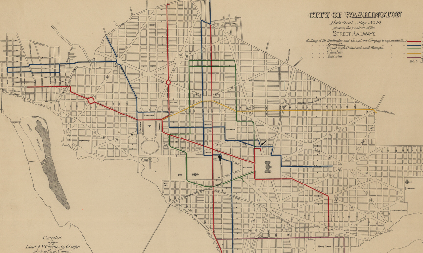 Civil War Washington DC Mass Transit in Washington 1862Style