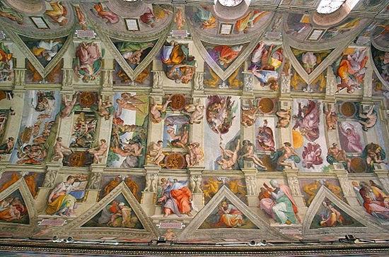 Cr ation d adam michel ange textes tout vent - Michel ange chapelle sixtine plafond ...