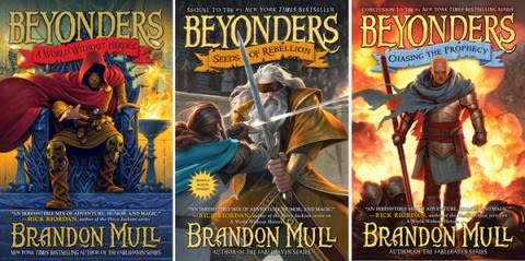 Cindy's Almanac of Good Tales: The Beyonders series by Brandon Mull