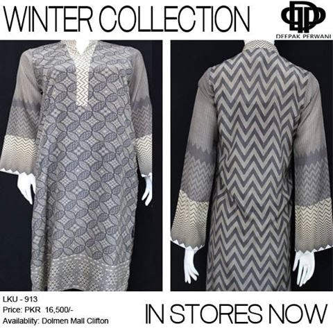 Deepak Perwani Winter collection 2013