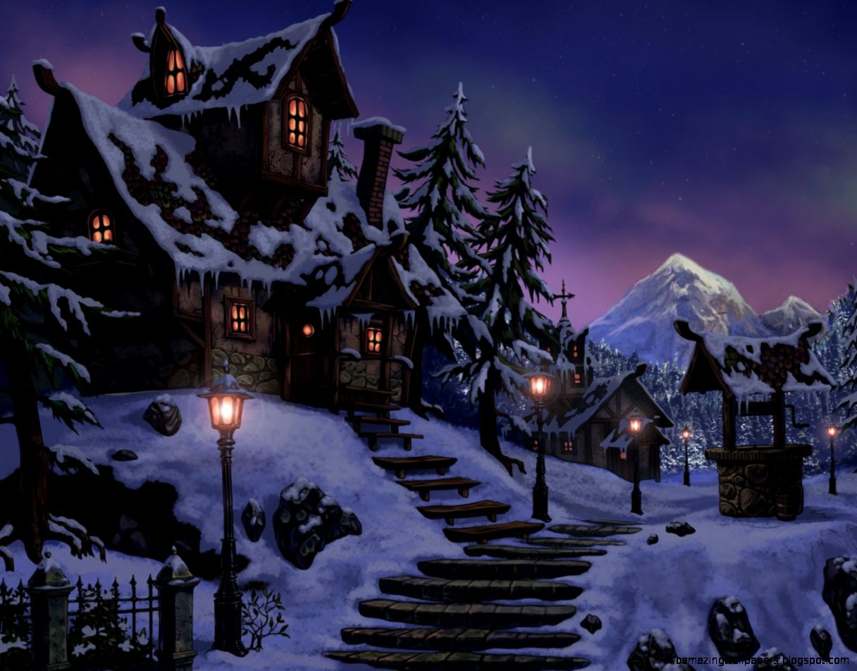 Winter snow Fantasy art and Fantasy on Pinterest