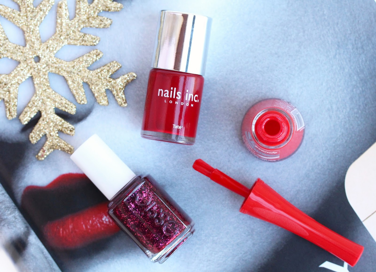 Christmas Red Nail Polishes