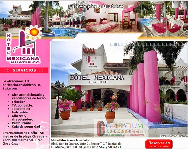 BIENVENIDOS A HOTEL MEXICANA HUATULCO.