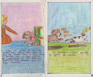 Tobb - um livro que fiz na minha infância. Paginas 2 e 3