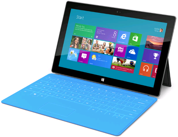 """Surface"" Tablet Finally Unveiled. Microsoft's Home-Made Windows 8 Pro or Windows RT-Flavored Tablet"