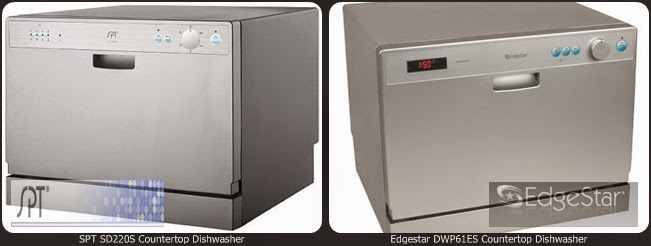 Edgestar DWP61ES Countertop Dishwasher Vs SPT SD220S Countertop Dishwasher