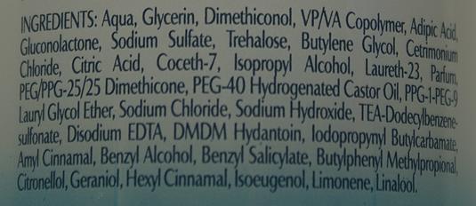 Spray unoszący włosy u nasady Dove Oxygen & Moisture skład
