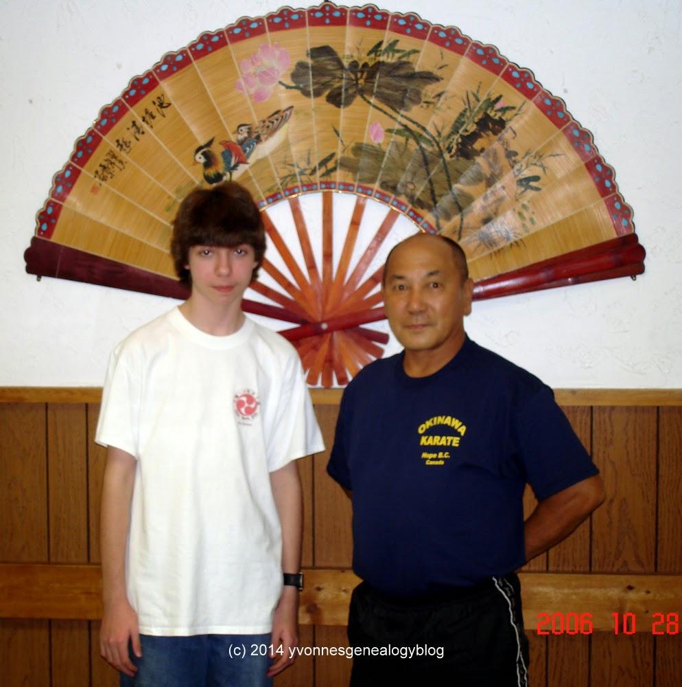 Nicholas Demoskoff with Tokomura Sensei