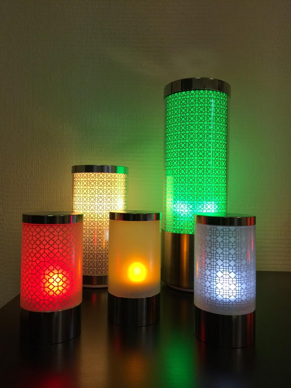 Midlightsun lampes de table led sans fil rechargeables - Lampe a recharger ...