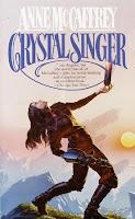 crystal singer by anne mccaffrey book cover
