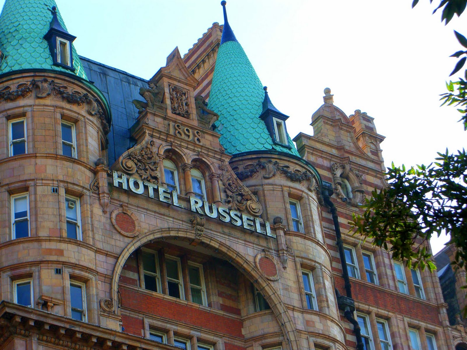 Hotel russell london for Hotels ussel