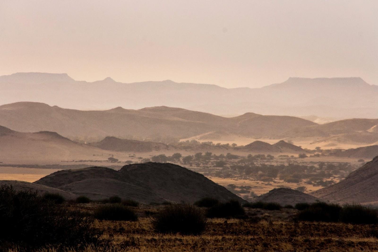 damaraland sunrise namibia safari