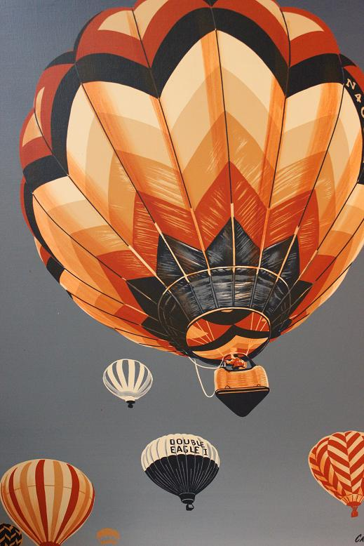 lovely*retro*house: Thrifty! Vintage Hot Air Balloon PRINT!