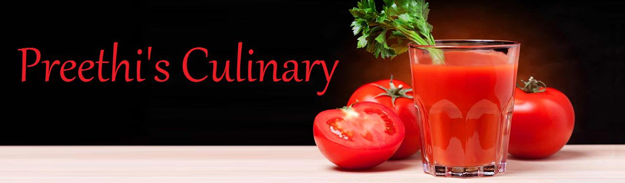 Preethi's Culinary