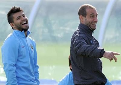 Zabaleta+Aguero Manchester City 20132014