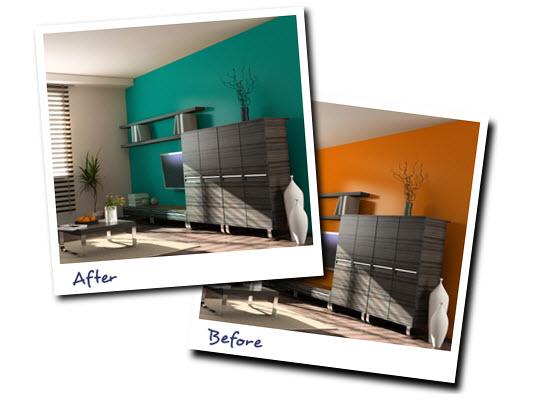 Pintar paredes de la casa c mo elegir los colores - Como pintar mi casa moderna ...