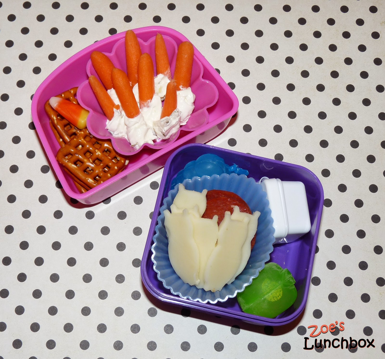 Kindergarten Snack Boxes