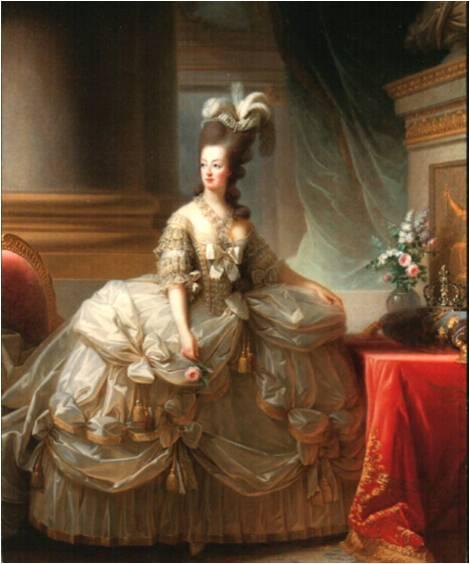 Signature d'Elisabeth Vigée Le Brun Vigee-LeBrun+Marie-antoinette