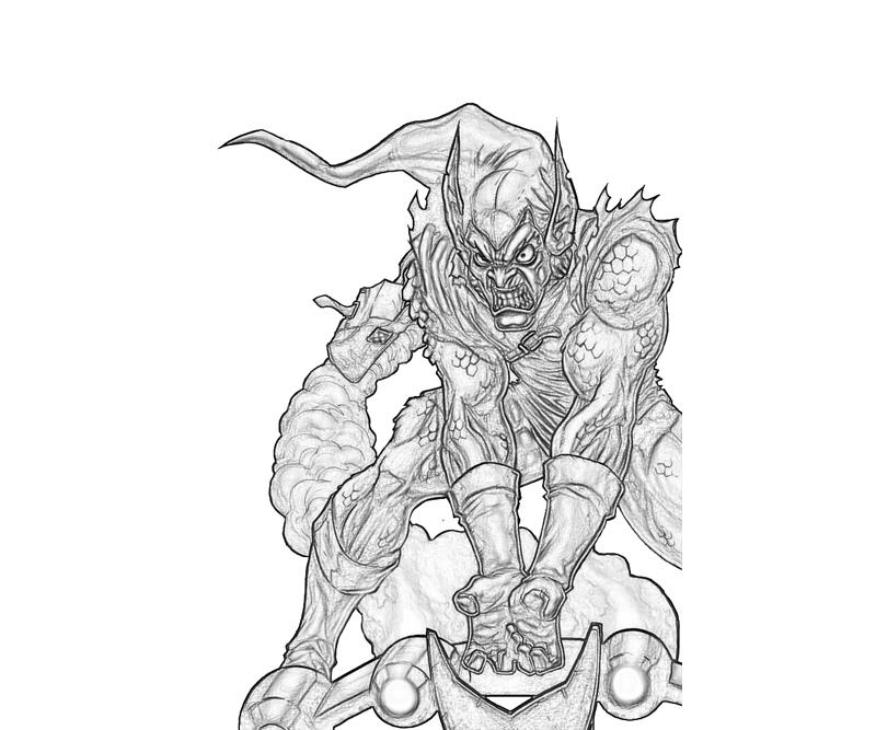 Marvel ultimate alliance 2 hercules character how coloring for Green goblin coloring pages