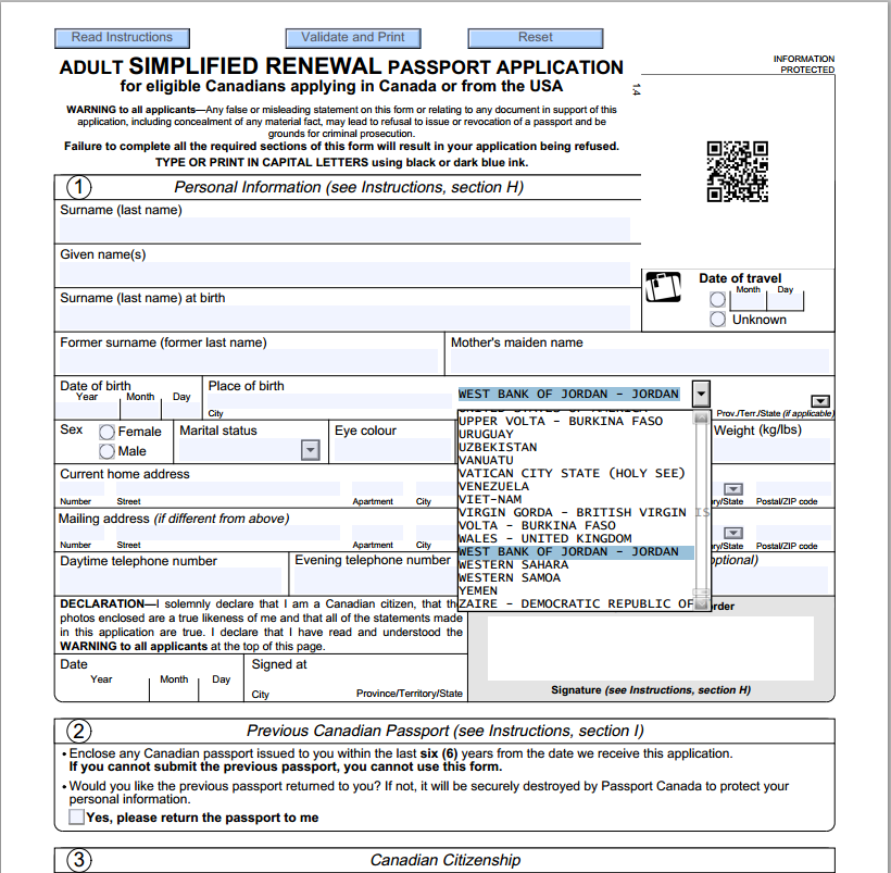 Us passport forms for adults arenspendingml for Documents required for passport online application