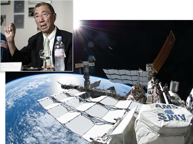 Samuel Ting AMS on ISS
